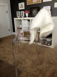 Acrylic Chair For Vanity by Furniture Ghost Chairs Ikea Desk Chair Ikea Vanity Chair Ikea