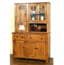 Corner Dining Room Hutch Buffet Hutches Rooms Pretty Cabinet Designs For
