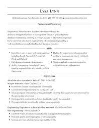 Administrative Support Combination Resume