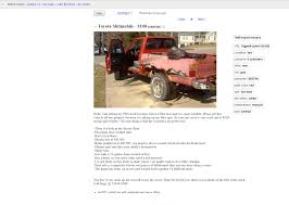 WIN! Antithesis To The Fail Thread - Page 582 - Pirate4x4.Com ... New And Used Cars For Sale In Detroit Mi For Less Than 1000 Craigslist Valdosta Georgia Trucks By Owner Intertional Harvester Classics On Autotrader Project Car Hell Illadvised Rearwheeldrive V8 Cversion Subaru Ad Is Brutally Hilariously Honest About Cash Sell Your Junk The Clunker Junker This Is The Ad Of Year Detroitengined Italians Chryslpowered Craigslist Scam Ads Dected On 2014 Vehicle Scams Crapshoot Hooniverse