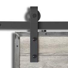 Menards Patio Door Hardware by Colonial Elegance Matte Black Steel Rustic Sliding Barn Door Kits