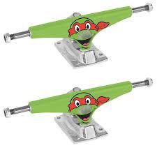 100 Buck Skate Trucks Krux Board Teenage Mutant Ninja Turtles Raphael 800