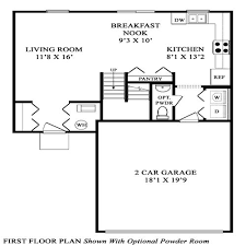 Maronda Homes Floor Plans Melbourne by New Home Floorplan Columbus Oh Wexford Maronda Homes