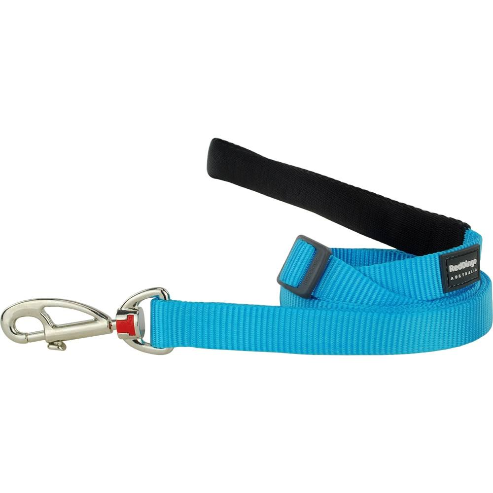 Red Dingo Dog Lead - Classic Turquoise, Large