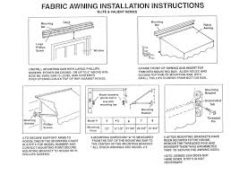 Awning Installation Instructions Windows Awning Products Eagle E ... Sunflexx Awnings Retractable Awning With Motor Or Hand Crank Pyc Motorized Manual Sunsetter Awnings Parts Chrissmith How Much Do Cost Angies List Sunsetter Weather Armor In La By Massachusetts Recent Posts Sunsetter In La By Galaxy Draperies Dealer And Installation Pratt Home Improvement The Oasis Freestanding Manually