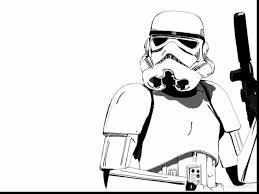 Excellent Star Wars Stormtrooper Cartoon With Darth Vader Coloring Pages And Helmet Page