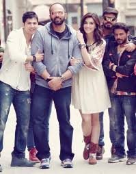 Varun and Kriti shoot for a Dilwale love song in Bulgaria