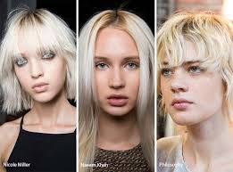 Spring Summer 2017 Hair Color Trends Ashy Blonde