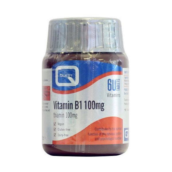 Quest Thiamine Vitamin B1 Tablets - 100mg, x60