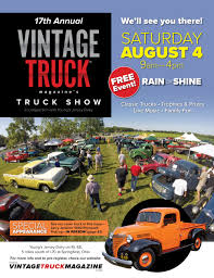 Next Vintage Truck Show - Aug. 4, 2018 — Vintage Truck Magazine Historic Trucks June 2011 Piureperfect 104 Magazine 1965 Vintage Car Ad Ford Mercury Comet 1960s Maga Flickr Annual Truck Youngs Show Jersey Dairy Read All About This Recently Found Vintage Texaco Service Truck Intertional Ads Crv 2014 Irish Scene Why Pickup Trucks Are The Hottest New Luxury Item The Classic Pickup Buyers Guide Drive With Kenlys 1944 Fordoren Legeros Fire Blog 1947 From Colliers A Tiny Little Bantam