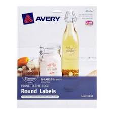 Clear Avery Printable Label Sheets
