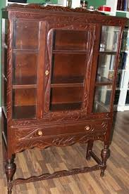 Antique China Cabinet Style Early Style China Mechanically Now