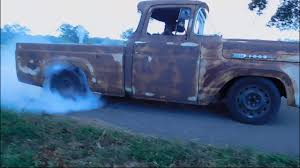 1960 Ford F100 With Crown Vic Frame Swap - YouTube Why Nows The Time To Invest In A Vintage Ford Pickup Truck Bloomberg 1960 F100 Classics For Sale On Autotrader This Sema Build Will Make You Say What Budget Wheels Pinterest Trucks And Classic Ranchero Red Motormax 79321acr 124 F1 Street Legens Hot Rods The Show 2016 Youtube Ford 12 Ton Short Bed 460 Big Block Power C6 Frankenford With Caterpillar Diesel Engine Swap Classiccarscom Cc708566 To 1970 Trucks For Best Resource Nice Lowered Stance Satin Black Paint Job