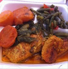 Mannas Soul Food Brooklyn Chicken Greens