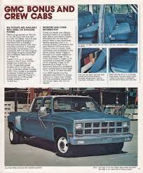 1982 GMC Dual-Rear-Wheel Crew Cab | Sqaurebodies | Pinterest Car Brochures 1982 Chevrolet And Gmc Truck Chevy Sierra C1500 Pickup Truck Item B5268 Sold Wedn 104 Best Wheels Us Images On Pinterest Suburban Dualrearwheel Crew Cab Sqaurebodies Blazer Blazers Gmc 4x4 Short Box Custom Used K1500 For Sale C7000 Tpi S15 Diesel Youtube After 4 Ord Lift Advance Vocational Ez Specifications Data Book Original
