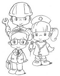 Labor Day Coloring Page For Kids