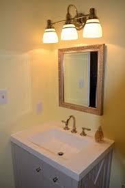 Home Depot Bathroom Lighting Brushed Nickel by Bathrooms Design Progress Lighting Alexa Collection Light