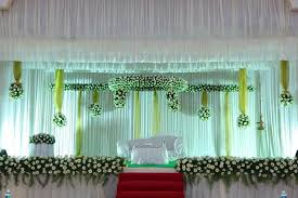 Christian Wedding Stage In Kerala