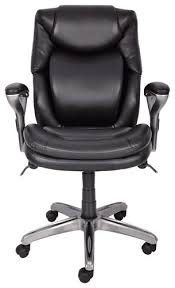 serta air health wellness mid back manager s chair black 44103