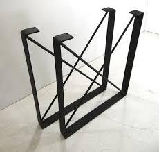 Ikea Desk Legs Uk by Best 25 Steel Table Legs Ideas On Pinterest Steel Table Wood
