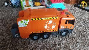 100 Kids Dump Truck Recycle Dump Truck