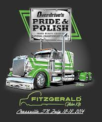 100 Fitzgerald Truck Sales Official Tshirt Design For Overdrive Magazine Pride Polish 2014