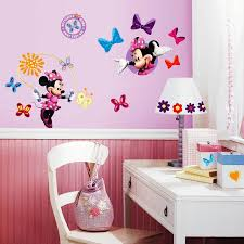 Wall Decor Stickers Target by Cute Minnie Mouse Wall Decals Ideas