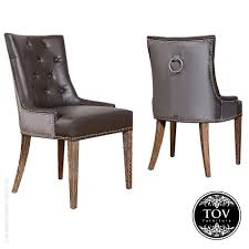 Dark Gray Velvet Dining Chair by Dining Chairs Impressive Grey Velvet Studded Dining Chairs Ester