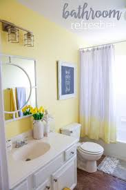 Gray And Yellow Bathroom Decor Ideas by Bathroom Amusing Gray And Yellow Bathroom Colors Gray And Yellow
