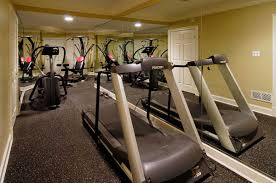 Interior : Modern Basement Home Gym Design Idea Modern Basement ... Basement Gym Ideas Home Interior Decor Design Unfinished Gyms Mediterrean Medium Best 25 Room Ideas On Pinterest Gym 10 That Will Inspire You To Sweat Window And Big Amazing Modern Center For Basement Gallery Collection In Flooring With Classic How Have A Haven Heartwork Organizing Tips Clever Uk S Also Affordable