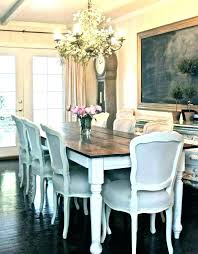 Farm Table Dining Room Round Country French Farmhouse And Chairs