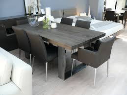 Grey Wood Dining Table Intended For Tables Captivating Gray Light Decor 12