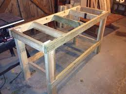 ana white quick u0026 easy workbench diy projects