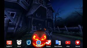 Halloween Live Wallpapers For Pc by My Live Wallpaper For October 2016 Android Halloween Youtube