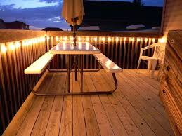 Patio Deck Lighting Lights For A With Regard To Provide Household