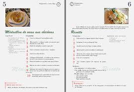 creer un livre de recette de cuisine idée créer livre de recettes personnalisé idée créer livre