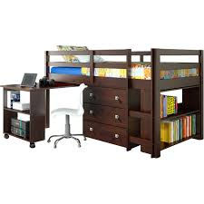 Low Loft Bed With Desk Underneath by Dressers Loft Beds With Dresser And Desk Loft Beds With Dressers