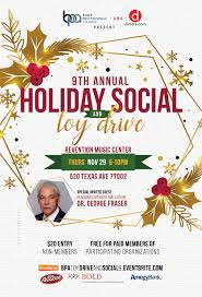 2018 Black Professionals Alliance Holiday Social And Toy Drive