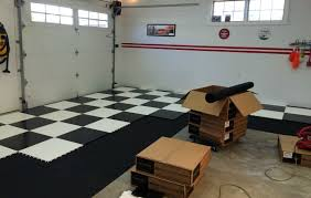 Racedeck Flooring Vs Epoxy by A Racedeck Tuffshield Garage Floor Project And Review All