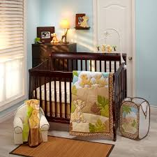 the lion king urban jungle 4 piece crib bedding set baby room