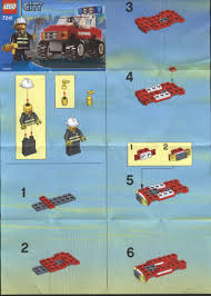 City Police Rescue : LEGO Fire Chiefs Car Instructions 7241, City ... Lego Pickup Tow Truck Itructions Best 2018 Quad Lego Delivery 3221 City Fire Station Moc Boxtoyco Chevrolet Apache Building Itructions Httpwww Asia Train Amp Signal Box Police Motorbike 2014 60056 Youtube Custom Fedex Truck Building This Cargo Bundle 3 With 7 Custom Designs Lions Prisoner Transporter 60043 4431 Ambulance Complete Minifig