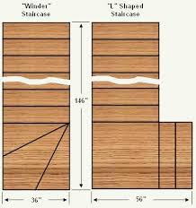 how to make or build a winder shaped staircase free stair