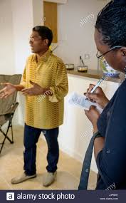 Miami Florida Little Haiti Lafayette Apartments Affordable Housing Rental Building Resident Newspaper Reporter Black Man Woman R