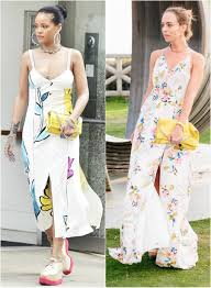 Sydne Style Shows How To Get Rihanna Celebrity Street For Less In Floral Dress And