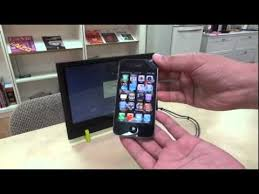 GeChic] how to connect iPhone and Lap monitor