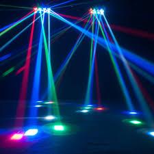 American DJ Zipper DMX Barrel Scanner Effect Light