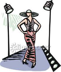 Free To Share Fashion Runway Clipart