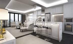 fototapete luxus wohnzimmer und speisekammer design