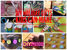 Simple DIY Gifts Kids Can Make For The Holidays