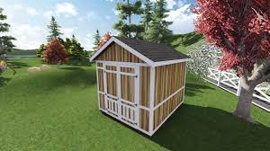 10x12 Gambrel Shed Material List by 10x12 Tall Gable Shed Plan